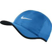 Nike Featherlight Cap - Light Photo Blue/Black/White