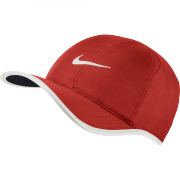 Nike Featherlight Cap - Light Crimson/Black/White
