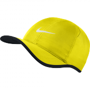 Nike Featherlight Cap - Opti Yellow/Black/White