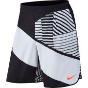 Nike Court Flex Tennis Short - White/Black/Hyper Orange