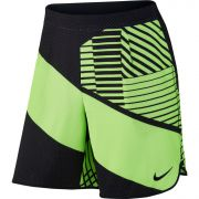 Nike Court Flex Tennis Short - Gost Green/Black