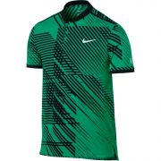 Nike Men's RF Advantage Tennis Polo - Stadium Green/Black/White