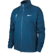 Nike Men's RF Jacket - Blue Force/Dark Grey Heather/Neo Turquoise/Metallic Silver