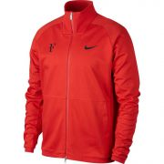 Nike Men's RF Jacket - Habanero Red/Dark Grey Heather/Black