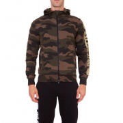 Hydrogen Do It Better Fz Hoodie - Camouflage