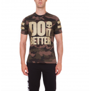 Hydrogen Do It Better T-Shirt - Camouflage