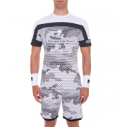 Hydrogen Tech Camo T-Shirt - White Camouflage/White