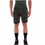 Hydrogen Camo Shorts  - Green Camouflage