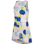 NikeCourt Dri-Fit Dress - Lilac Mist/Off Noir
