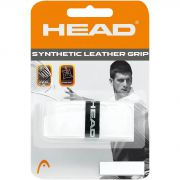 Head Synthetic Leather Grip - Bianco