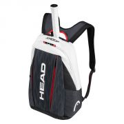 Head Djokovic Backpack  - Black/Red/White