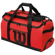 Wilson Duffle Bag - Red/Black