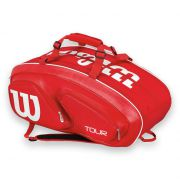 Wilson Tour V Red 15 Pack Bag - Red
