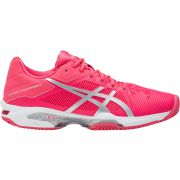 Asics Gel Resolution Speed 3 Clay - Rouge Red/Silver