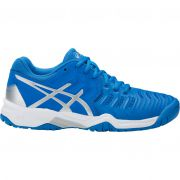 Asics Junior Gel Resolution 7 Gs - Directoire Blu/Silver/White