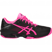 Asics Gel Resolution Speed 3 Clay - Black/Hot Pink/Silver