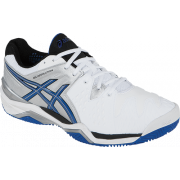 Asics Gel Resolution Clay Court 6 - White/Blue/Silver