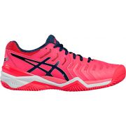 Asics Gel Resolution 7 - Diva Pink/Indingo Blue/White