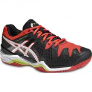 Asics Gel Resolution 6 Clay - Black/White/Red