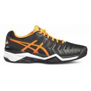 Asics Gel Resolution 7 Clay - Black/Orange