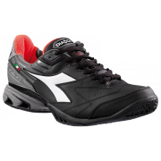Diadora Speed Star K IV Ag - Black/White/Red