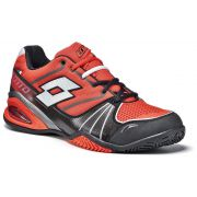 Lotto Stratosphere Clay - Red War/Black