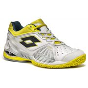 Lotto Women Raptor Ultra IV Clay - White/Yellow