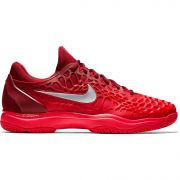 Men's Nike Zoom Cage 3 - Team Red/Metallic Silver/Siren Red