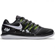 NikeCourt Air Zoom Vapor X Premium Hard Court - Black/Volt Glow/White