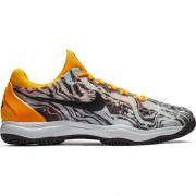 Men's Nike Zoom Cage 3 - Thunder Grey/Laser Orange