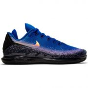 NikeCourt Air Zoom Vapor X Knit - Black/Multicolor/Racer Blue